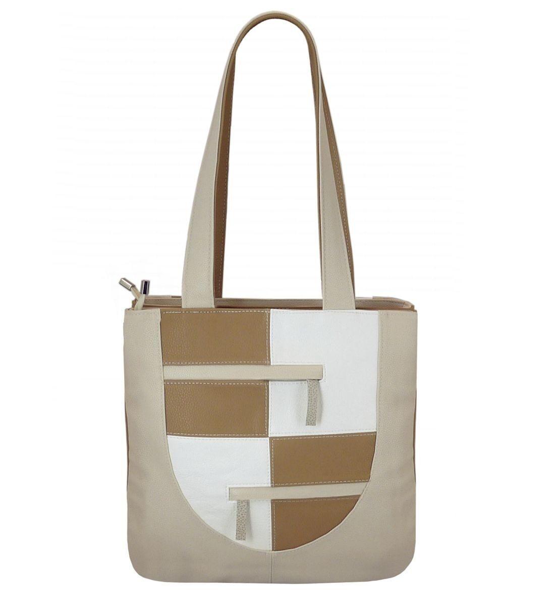 Женская сумка модель бэтта бежевая